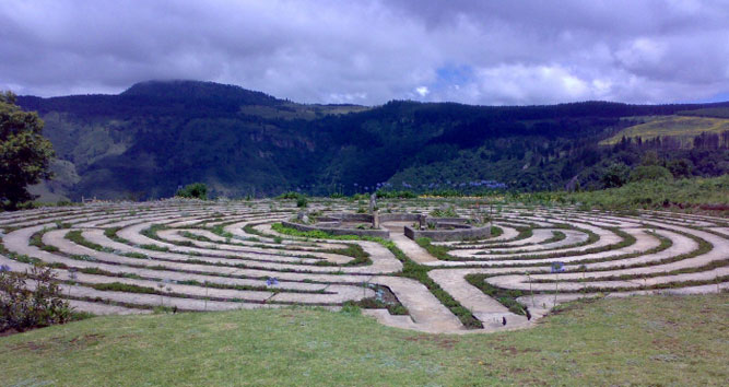 The Labyrinth at Hogsback