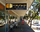 Entrance to Vista Cafe